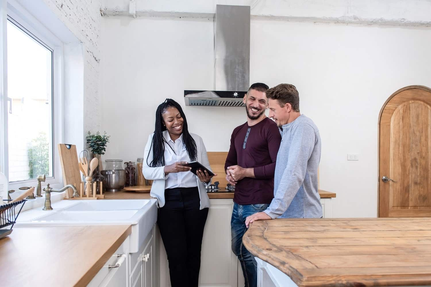 working with a real estate agent